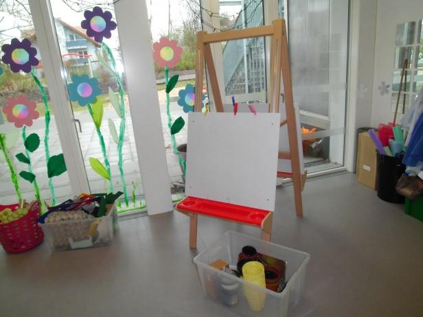 Unsere kita kindertagesst tte der ev miriamgemeinde for Raumgestaltung atelier kita